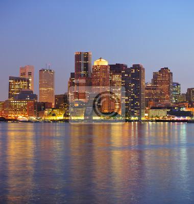Boston urban buildings
