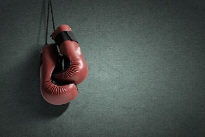 Canvas print Boxing gloves