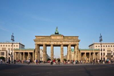 Canvas print Brandenburg gate, Berlin, Germany