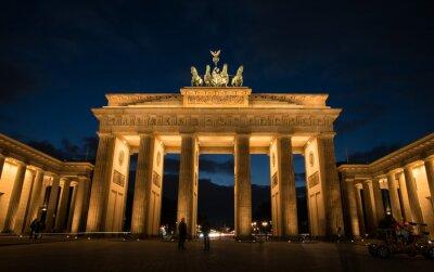 Canvas print Brandenburg Gate Berlin Germany