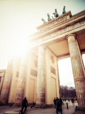 Canvas print Brandenburger Tor, Berlin