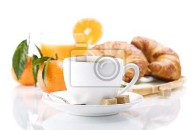 Canvas print breakfast