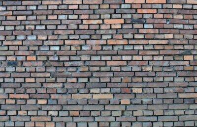 Canvas print Brick wall - background