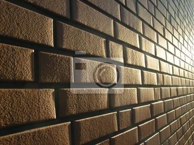 brick wall in sun