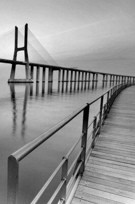 Canvas print Bridge