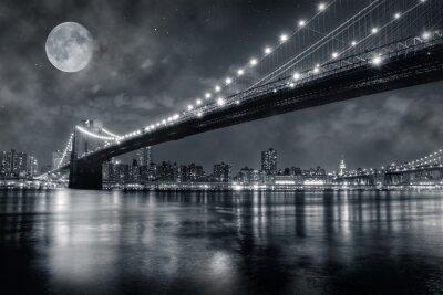 Canvas print Brooklyn bridge