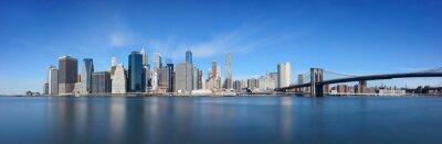 Brooklyn Bridge and downtown Manhattan