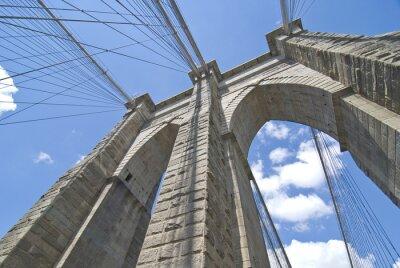 Canvas print Brooklyn Bridge Architecture
