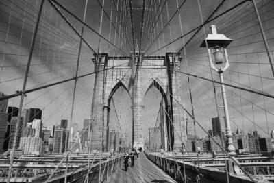 Canvas print Brooklyn Bridge, New York