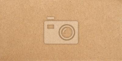 Canvas print brown cardboard texture background