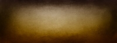 Canvas print Brown vintage background texture, grunge textured black border vignette on earthy golden brown tones in beige or light brown center color, elegant old distressed paper, antique background wall design