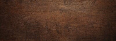 Canvas print brown wooden texture may used as background