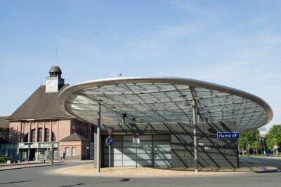 Canvas print Busbahnhof in Herne, nrw, Deutschland
