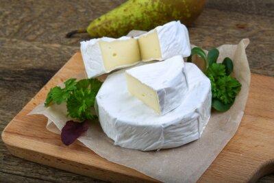 Canvas print Camembert cheese