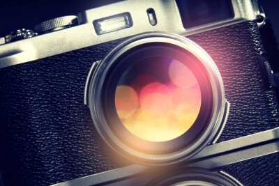 Canvas print Camera