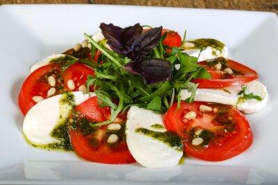 Canvas print Caprese salad