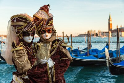 Canvas print Carnevale Venezia