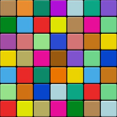 Canvas print Carrelage multicolore 1.03