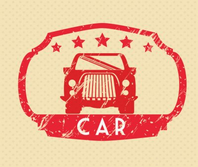 Canvas print Cars concept design