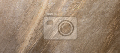 Canvas print ceramic brown tile with rough abstract stone surface pattern