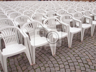 Canvas print Chairs