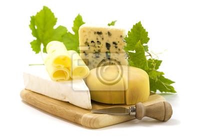 Canvas print cheese