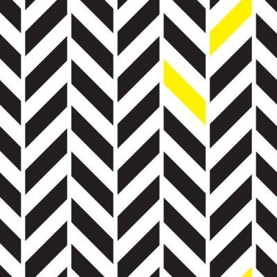 Canvas print Chevron alternate seamless pattern