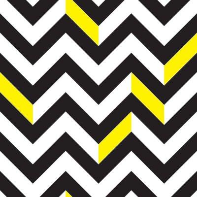Canvas print Chevron pattern