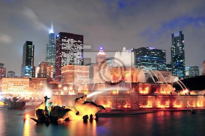 Canvas print Chicago