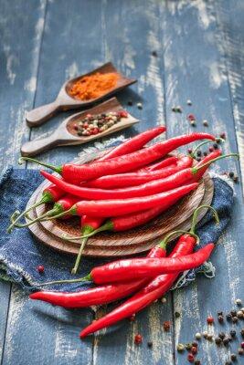 Canvas print chili