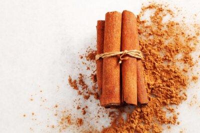 Canvas print cinnamon
