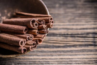 Canvas print Cinnamon sticks