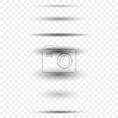 Canvas print Circle shadow set
