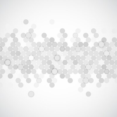 Canvas print Circles background