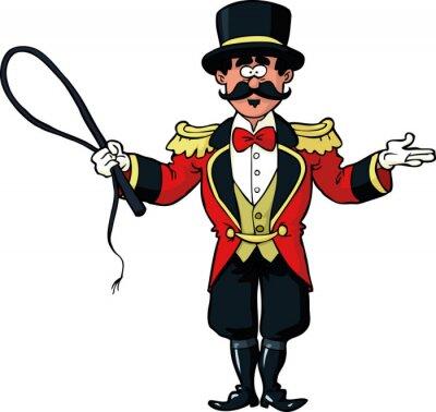 Circus ring master