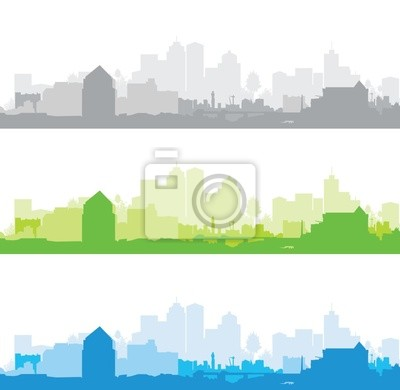 Canvas print Cityscape
