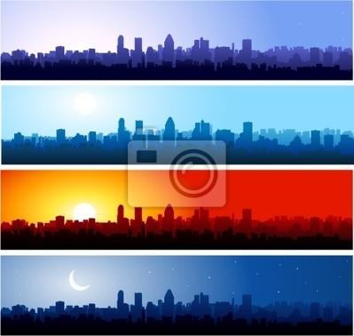 Canvas print Cityscapes