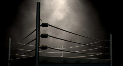 Canvas print Classic Vintage Boxing Ring