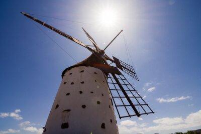 Canvas print Classic Vintage Windmill Building