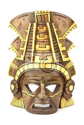 clay mask of a maya