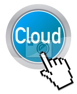 Canvas print Cloud