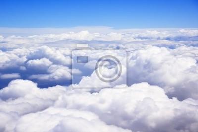 Canvas print clouds