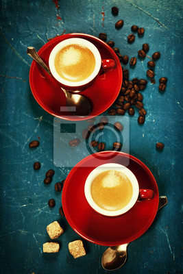 Canvas print Coffee composition