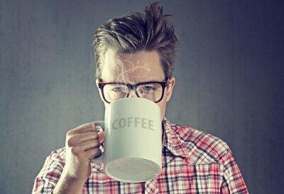 Canvas print Coffee Junkie