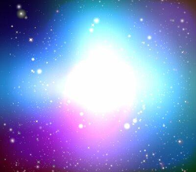 Canvas print Color galaxy