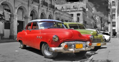 Colorful Havana expensive picture