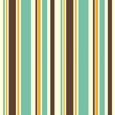 Canvas print colorful striped seamless vector pattern background illustration
