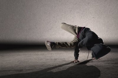 Canvas print Cool breakdancing style