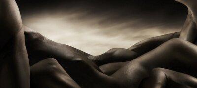 Canvas print corpi di nudo artistico