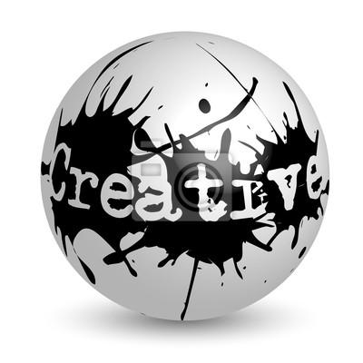 Canvas print Creative